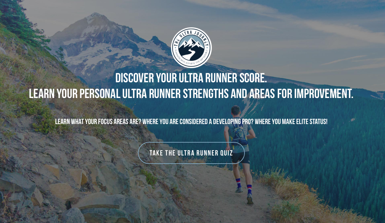 Why take the ultra runners quiz